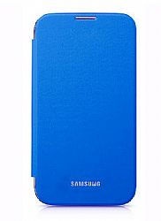 Samsung Flip Cover Case for Galaxy S4 (Blue)