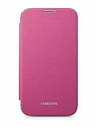 Samsung Flip Cover Case for Galaxy S4 (Pink)