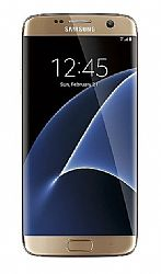 Samsung Galaxy S7 Edge 32GB (3G 850MHz AT&T) Gold - DUAL SIM (G935FD) - Unlocked Import