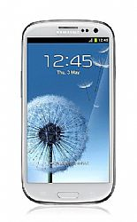 Samsung GT-I9300 Galaxy S III 32GB (3G 850/1900MHz AT&T) White Unlocked Import