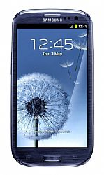 Samsung GT-I9305 Galaxy S3 16GB LTE (3G 850/1900MHz AT&T) Blue Unlocked Import