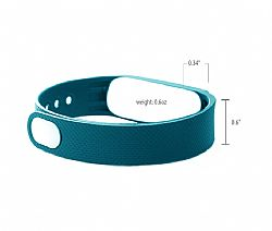 Jarv Elite Teal Wrist Band Replacement (metal clip included)