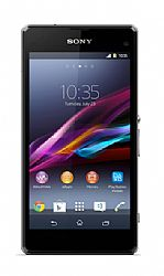 Sony Xperia Z1 Compact (3G 850MHz AT&T) Black Unlocked Import