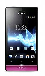 Sony Xperia Miro ST23a (3G 850MHz AT&T) Black/ Pink Unlocked US Version