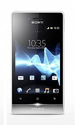 Sony Xperia Miro ST23a (3G 850MHz AT&T) White Unlocked US Version