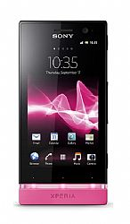 Sony Xperia U ST25a (3G 850MHz AT&T) Black/Pink Unlocked US Version