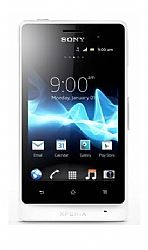 Sony Xperia Advance (Go) ST27a (3G 850MHz AT&T) Pure White Unlocked US Version