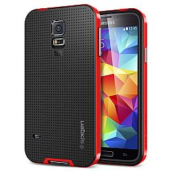 Spigen Neo-Hybrid Case for Samsung Galaxy S5 - Dante Red