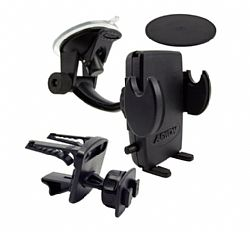 Arkon Universal Windshield with Dashboard and Vent Mount for Smartphones and PDAs
