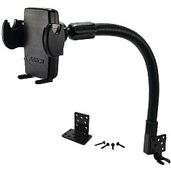 Arkon Smartphone Seat Rail or Floor Car Truck Mount for Apple iPhone 6 Plus 6 5 5S 5C Samsung Galaxy Note 4 3 Galaxy S6 S5 S4