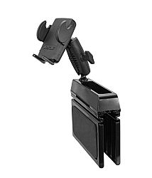 Arkon Car Console Wedge Phone Mount Holder for iPhone X 8 7 6S Plus 8 7 6S Galaxy Note Retail Black