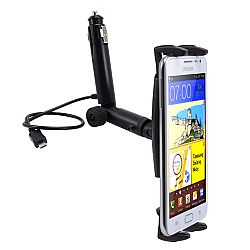 Arkon Universal Slim-Grip Micro USB Lighter Socket Mount for Galaxy S3 III