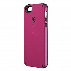 Speck CandyShell Case for iPhone 5 - Raspberry Pink/Black