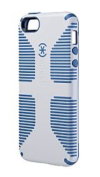 Speck CandyShell Grip Case for iPhone 5 - White/Harbor