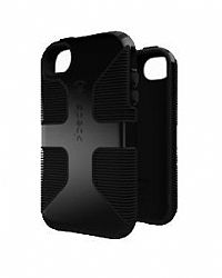 Speck CandyShell Grip for iPhone 4S in Black