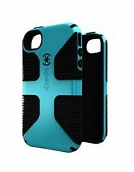 CandyShell Grip for iPhone 4S in Peacock