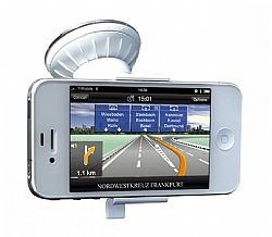Just Mobile Xstand Go Suction Mount for iPhone 4 / 4S (White)