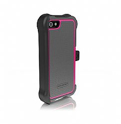 Ballistic SG MAXX Case for iPhone 5 - Charcoal/Raspberry