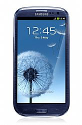 Samsung GT-I9300 Galaxy S3 16GB (3G 850/1900MHz AT&T) Blue Unlocked Import