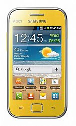 Samsung Galaxy Ace Duos S6802 (3G 850MHz AT&T) Yellow Unlocked Import