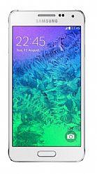 Samsung Galaxy Alpha (3G 850MHz AT&T) White Unlocked Import