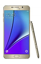 Samsung Galaxy Note 5 32GB (3G 850MHz MHz) Gold Unlocked Import