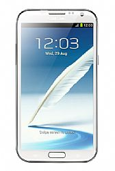 Samsung Galaxy Note 2 II N7100 16GB (3G 850MHz AT&T) White Unlocked Import