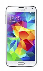 Samsung Galaxy S5 Smartphone (3G 850MHz AT&T) Shimmery White Unlocked Import
