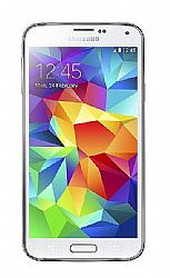 Samsung Galaxy S5 G900F Smartphone (3G 850MHz AT&T) Shimmery White Unlocked Import