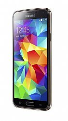Samsung Galaxy S5 G900F Smartphone (3G 850MHz AT&T) Gold Unlocked Import