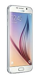Samsung Galaxy S6 Dual Sim 32GB (3G 850MHz AT&T) White Unlocked Import