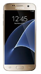 Samsung Galaxy S7 32GB (3G 850MHz AT&T) Gold - SINGLE SIM (F) - Unlocked Import