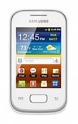 Samsung Galaxy Pocket S5300 White Unlocked Import