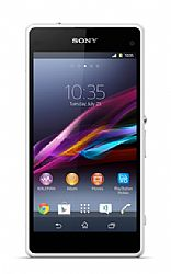 Sony Xperia Z1 Compact (3G 850MHz AT&T) White Unlocked Import