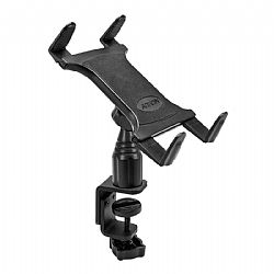 Arkon Heavy-Duty Table or Desk Tablet Clamp Mount with 4 inch Arm for iPad, iPad Air, Galaxy