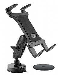 Arkon Heavy-Duty Sticky Suction Windshield or Dash Tablet Mount for iPad Air, iPad 4, 3, 2, Samsung Galaxy
