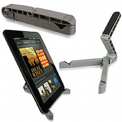 Arkon Portable Fold Up Tablet Stand for iPad and Tablet - Silver