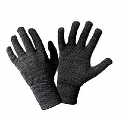 Glider Gloves Urban Style Touchscreen Gloves in Black - Large