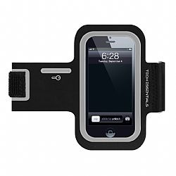 Merkury Motion series armband for Samsung Galaxy S3/4 - Black/Silver