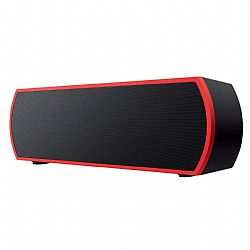 Merkury Urban Beatz Rumble Bluetooth Speaker - Black/Red