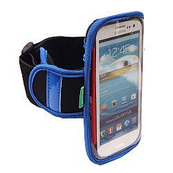 Arkon Universal XXL Smartphone Workout Armband for Samsung Galaxy S3, S4, Galaxy Nexus, RAZR Maxx HD,  Moto X, Moto G and More - Blue