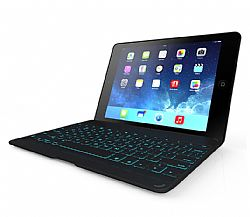 ZAGG ZAGGkeys Folio Case with Backlit Keyboard for iPad Air - Black