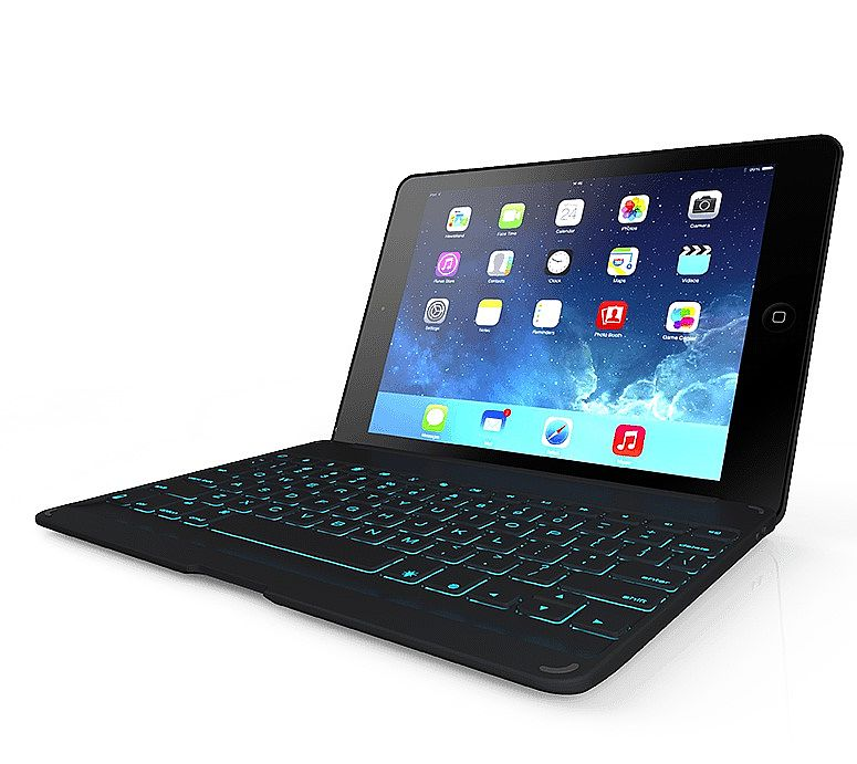 Zagg Bluetooth Keyboard Ipad Air Bluetooth Earpiece Brain Cancer Bluetooth Car Kit Honda Jazz Bluetooth Handsfree Car Kit Big W: ZAGG ZAGGkeys Folio Case With Backlit Keyboard For IPad