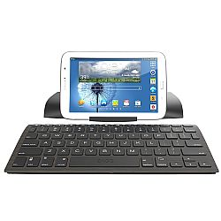 ZAGGkeys Case with Universal Wireless Keyboard for All Bluetooth Smartphones and Tablets - Black