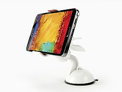 Cellet Dashboard/Windshield Car Mount Holder for Smartphones Up to 3.8inches Wide - White