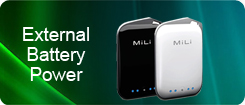 Mili External Battery Power