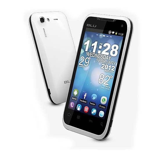 New Blu Elite 3 8 Unlocked GSM Phone Android 2 3 OS Touch Screen 5MP